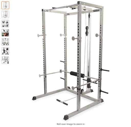 3. Valor Fitness BD-7 Power Rack with Lat Pull Attachment copy