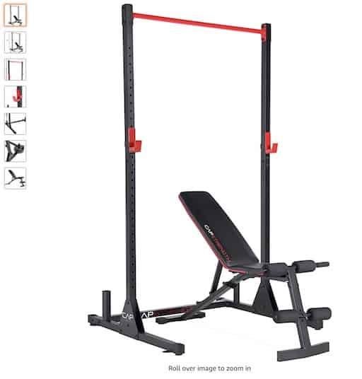 5. Cap Barbell Power Rack Exercise Stand copy