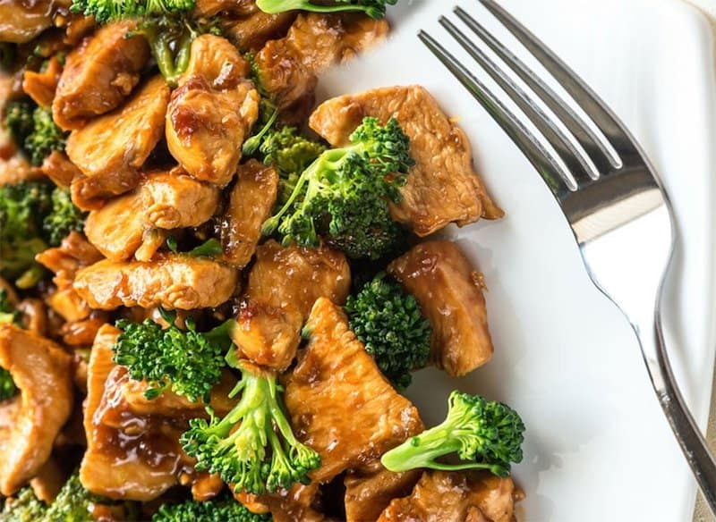 11 Chicken and Broccoli
