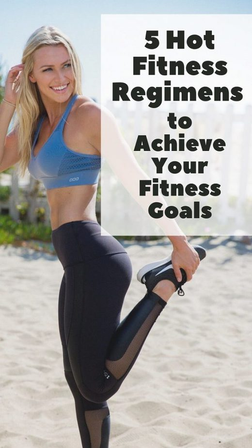 5 Hot Fitness Regimens to Achieve Your Fitness Goals pinterest