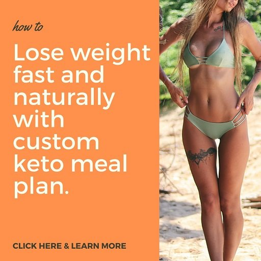 Lose weight fast and naturally with custom keto meal plan.