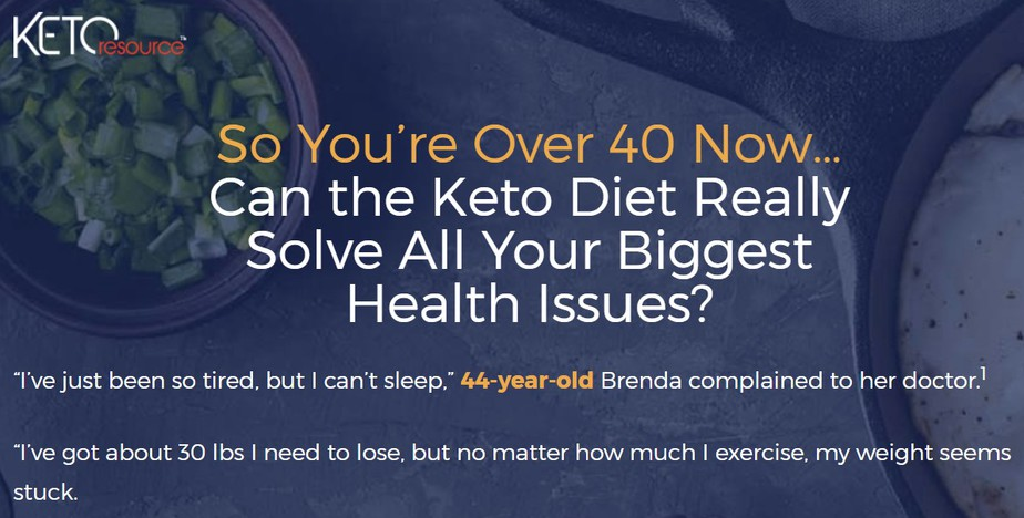 Keto Over Forty 28-Day Challenge review 1