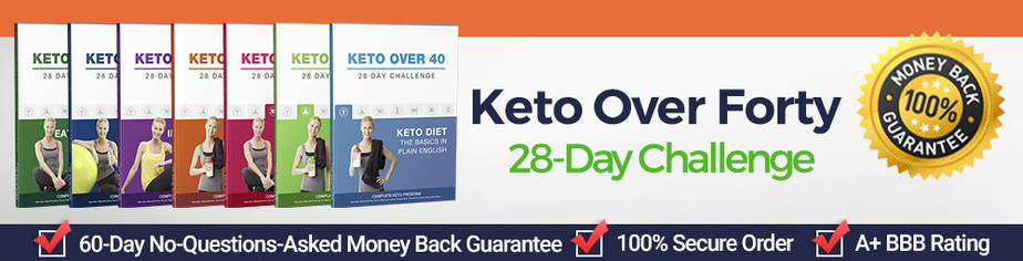 Keto Over Forty 28-Day Challenge review 2