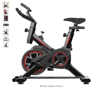 Best Spin Bikes Under 500 9 OVICX stationary spin bike with magnetic resistance