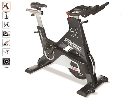 Best Upright Exercise Bikes 8 Spinner Blade by Star Trac