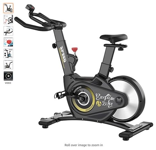 Best Spin Bikes Under $1000 5 Pooboo exercise bike
