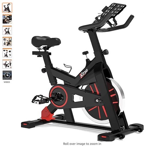Best Spin Bikes Under $300 10 Tyra Stationary Spin Bike for Indoor Cycling 35lbs