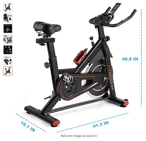 Best Spin Bikes Under $300 6 Fitness Club Exercise Bike Stationary 35lbs