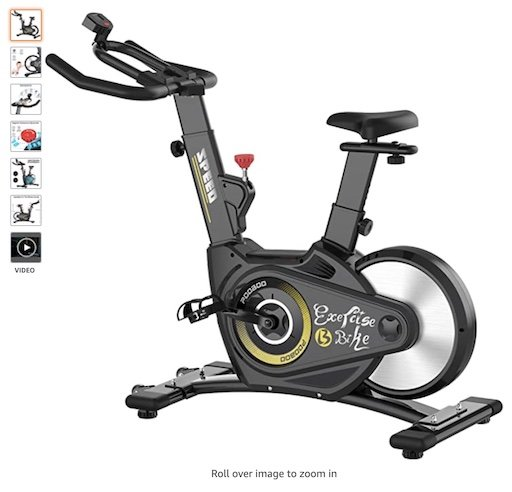 Best Spin Bikes Under $300 7 Pooboo Exercise Bike