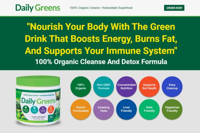 Daily Greens Organic Superfood Review